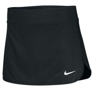 Nike dri fit black tennis skirt